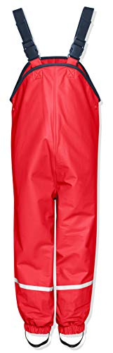 Playshoes Unisex Niños Pantalones Not Applicable, Rojo (Rot), 92