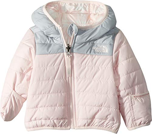 The North Face Chaqueta Perrito Reversible Infantil, Rosa Purdy, 3-6 Meses