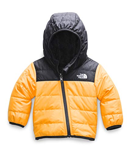 The North Face Infant Reversible Mount Chimborazo Hoodie, Summit Gold, 3M